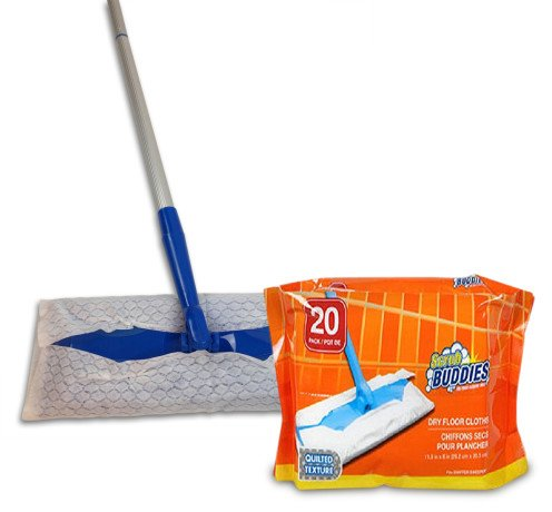 swiff-sweeper-flat-dry-dust-mop-20-cloths-included-for-hardwood-laminate-tile-vinyl-marble-stone-or-