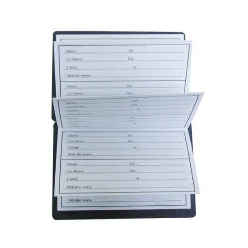 MG108 3.50 x 2.50 2 count Gold Wallet Size Magnetic Phone Book