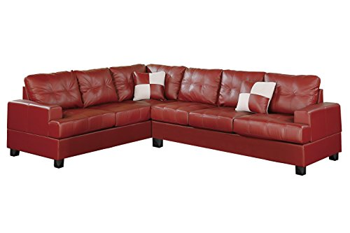 poundex-bobkona-karen-bonded-leather-2-piece-reversible-sectional-sofa-burgundy