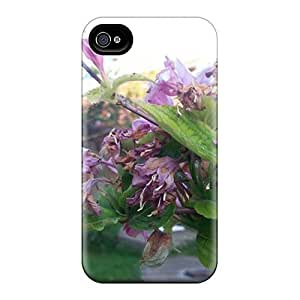 High-quality Durability Cases Iphone 4/4S (dried Flowers)