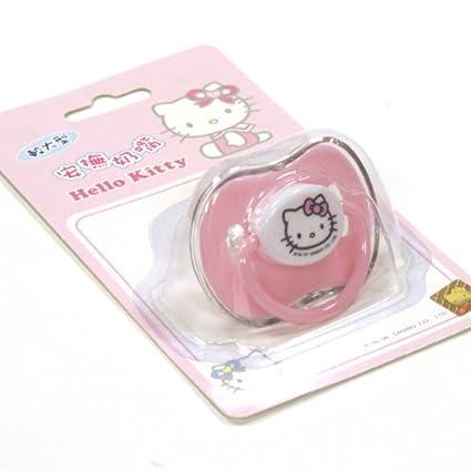 Sanrio Hello Kitty Chupete Tetina de silicon para Bebe (4+ ...