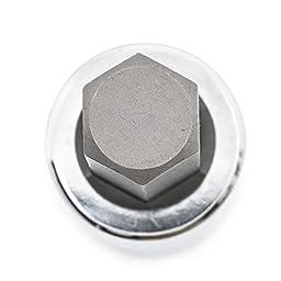 GearWrench 80721 7 Piece 1/2-Inch Drive SAE Hex Bit Socket Set