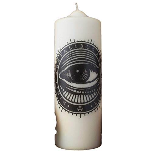 Coreterno Mystical Eye Visionary Pillar Candle No. 05