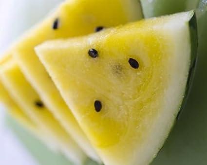Yellow Doll Hybrid Super cocomero dolce Ghiacciaia Giallo 16 semi organici non OGM