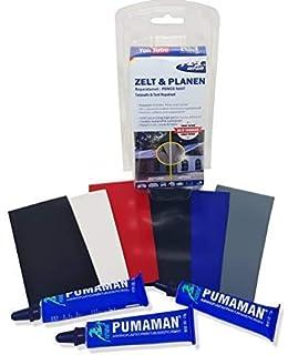 123Repair Kit de reparación Lona, toldo, láminas de plástico, Carpas de Lona,