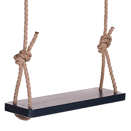 Porchgate Amish Made The Original Adult Tree Swing (Navy Yard Blue) - Pine Breaking Boards