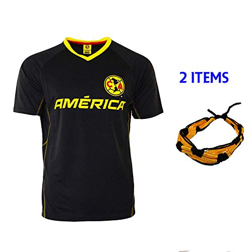 d6784e005 Club America Soccer Jersey Mexico FMF Adult Training Aguilas del America ( Navy