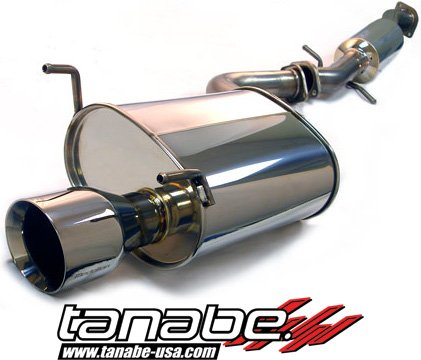 Tanabe T70038 Medalion Touring Cat-Back Exhaust System for Lexus IS300 2000-2005