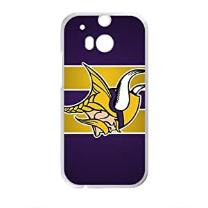 Minnesota Vikings Brand New And High Quality Custom Hard Case Cover Protector For HTC M8