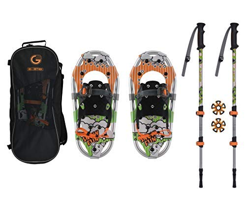 G2 GO2GETHER Snowshoes Kit for Youth by G2 GO2GETHER