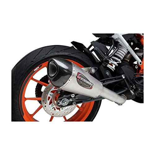 himura Alpha T Slip-On Exhaust (Street/Stainless Steel/Stainless Steel/Carbon Fiber/Works Finish) ()