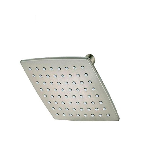"Pfister 015-WSVNKK Venturi 1-Spray 6"" Fixed Shower Head, Brushed Nickel"