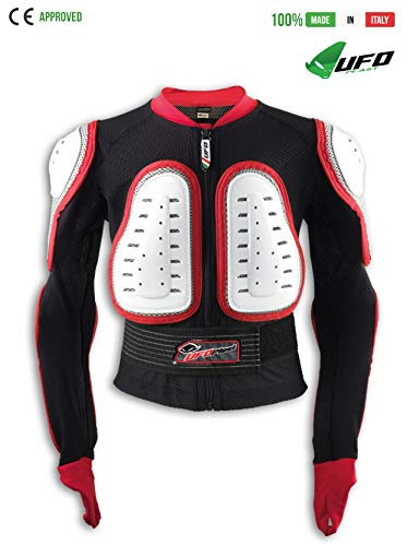 Price comparison product image UFO PLAST Made in Italy SK09117 PREDATOR Armored Jacket for Kids / Size: S