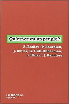 Book Qu'est-ce qu'un peuple ?