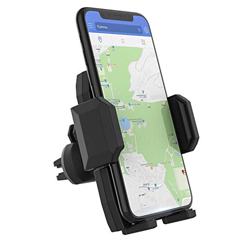 auto air vent cell phone holder - 5