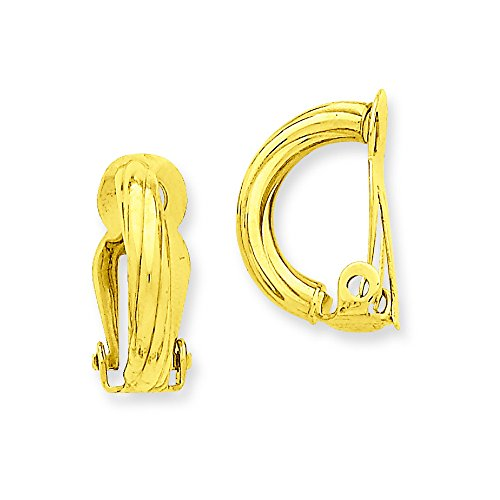 14k Non-Pierced Earrings by Shop4Silver