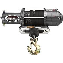 VIPER Max 6000lb ATV/UTV Winch Kit with 65 feet BLACK Synthetic Rope