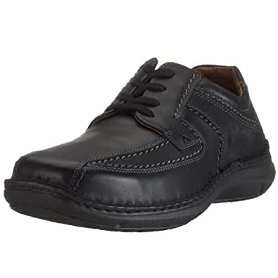 Josef Seibel Brian - Zapatos con cordones para hombre, color negro, talla 46