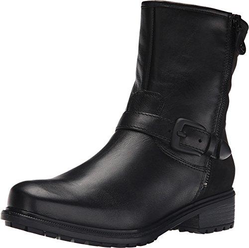 ara Women's Kasper Black Leather/Nubuck Combo Shoe