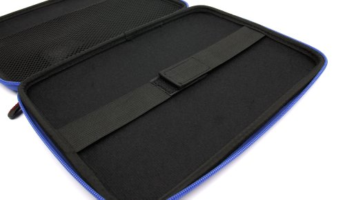 New DURAGADGET Brilliantly Resilient Hard Shell Case Cover Sleeve With Internal Ergonomic Designed Net Accessories Pouch In Vibrant BLUE COLOUR For Asus Transformer Book T100TA, Asus MEMO PAD 10, Asus Transformer Pad TF701T, Transformer Infinity & Transfo by DURAGADGET (Image #5)