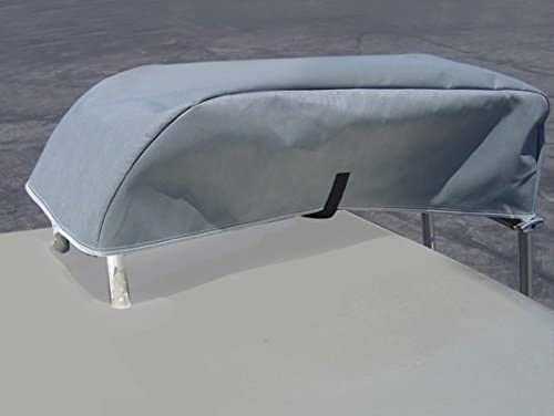 Renewed ADCO 34873 Designer Series Gray//White 24 1-28 DuPont Tyvek Toyhauler Trailer Cover