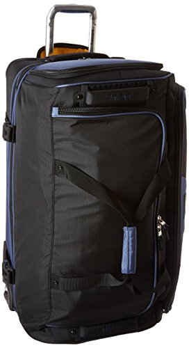 Travelpro Rolling Luggage (Travelpro Tpro Bold 2.0 30 Inch Drop Bottom Rolling Duffel, Black/Navy, One Size)