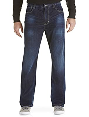 Calvin Klein Jeans Relaxed Straight Fit Jeans Deep Water Wash