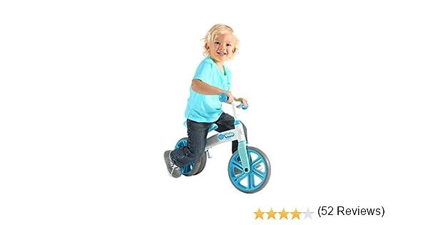 YVolution Velo Bicicleta Sin Pedales, Unisex niños, Azul, M: Amazon.es: Deportes y aire libre