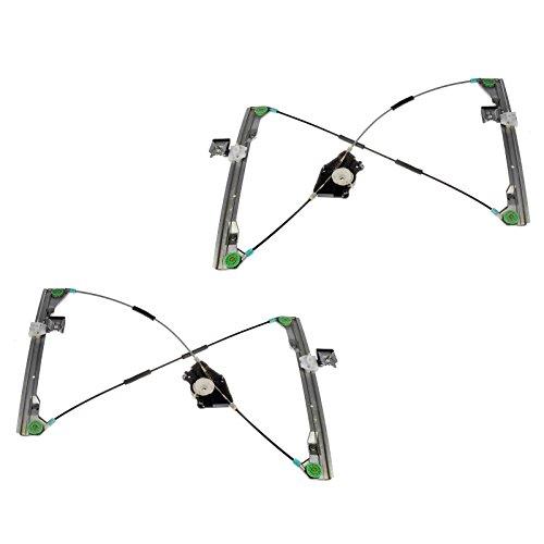 - Front Door Power Window Regulators Left & Right Pair Set for 98-10 VW Beetle