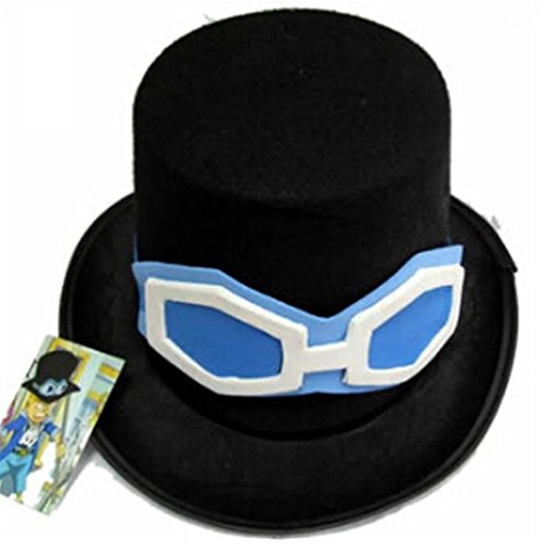 HOLRAN One Piece Sabo Cosplay Hat cap (One size)