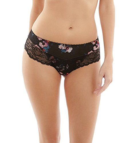 Panache Jasmine Brief, L, Black Rose