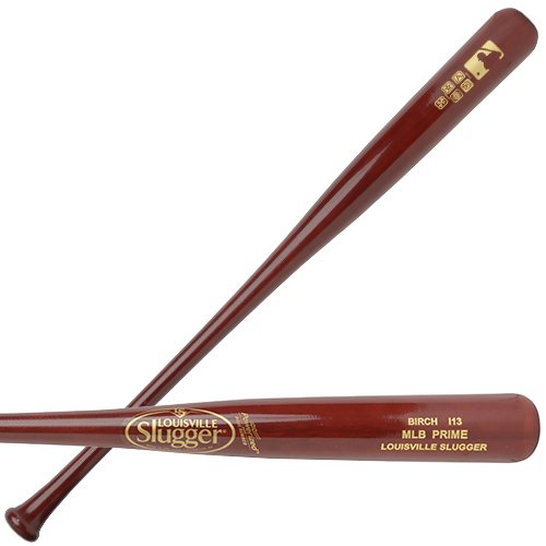 Louisville Slugger MLB Prime Birch I13 Hornsby High Gloss Baseball Bat, 32″/31 oz