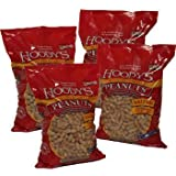 Cheap Hoody's Best Healthy and Bursting With Crunchiness Legume Snacks Dry Roasted In Shell Salted Peanuts 4 Packs