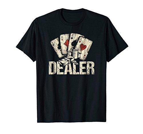 Casino Dealer Tshirt Gift, Poker Dealer TShirt, Dealer Shirt