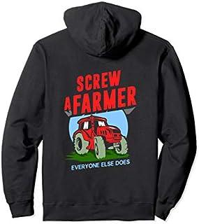 ⭐️⭐️⭐️ Birthday Gift Screw a Farmer, Everyone else does shirt, Funny farmer hoody Need Funny Short/Long Sleeve Shirt/Hoodie