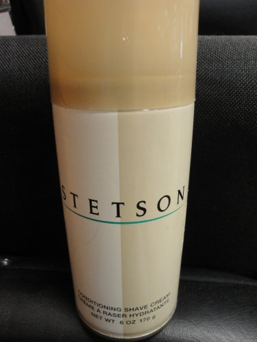 STETSON CONDITIONG SHAVE CREAM (6oz) PACK OF 6
