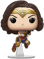 Funko Pop! Movies: Wonder Woman 1984 - Wonder Woman Flying (Metallic), Multicolor