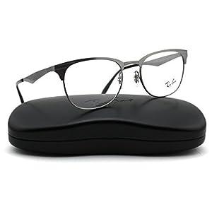 Ray-Ban RX6346 2553 Unisex Eyeglasses Metal Brushed Gunmetal Frame 52mm