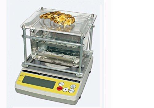 0.0001g/cm3 GH-1200K precision metal densimeter , Gold Purity Analyzer, Gold and Silver Testing Machine by JIAWANSHUN