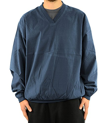 Harvard Square Pullover V-Neck Microfiber Windshirt