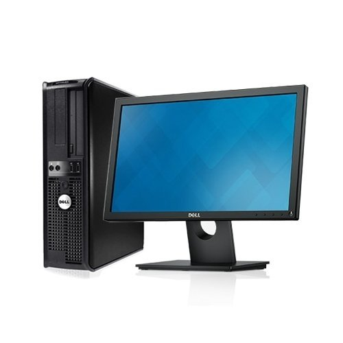 "Windows 7: Dell 330 - Duo 2.93GHz, 4GB DDR2, New 1TB HDD, Windows 7 Pro 64-Bit, WiFi + New Dell 19"" Monitor (Certified Refurbished) by Dell"