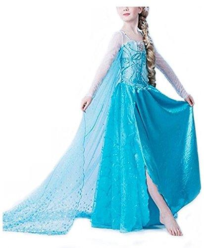 iikids Vestido de fiesta princesa para mujer vestido para Cosplay Carnaval Navidad