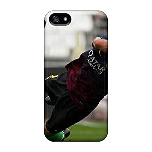 New STCentralRoom Super Strong The Player Of Barcelona Victor Valdes Takes All Of The Football Balls Tpu Case Cover For Iphone 5/5s