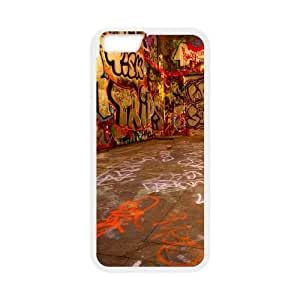 iPhone 6 Plus 5.5 Inch Cell Phone Case White Graffiti room L8X5XI