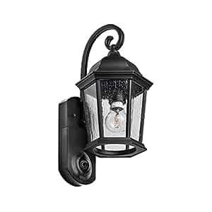 Maximus Video Security Camera & Outdoor Light - Coach Black - Works with Amazon Alexa