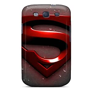 Hard Protect Phone Case For Samsung Galaxy S3 (knt13653kgAD) Provide Private Custom Nice Superman Skin