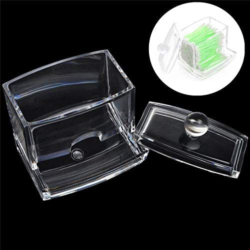 Hopter Hotel Beauty Shop Household Items Crystal Swab Box Cotton Pad Storage Box Cotton Tooth Storage Box