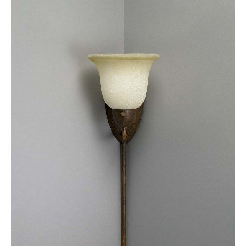Liz Jordan Lighting 37218 Golden Bronze Pin Up 1 Light Corner Sconce from  the Pin Up Collection