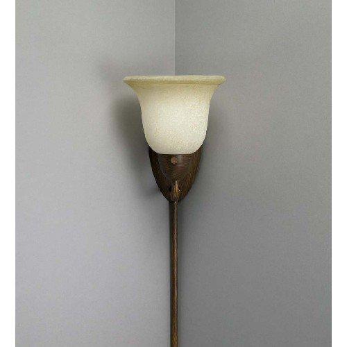 Liz Jordan Lighting 37218 Golden Bronze Pin Up 1 Light Corner Sconce from  the Pin Up Collection
