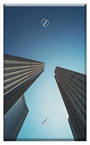 Single-Gang Blank Wall Plate Cover - Toronto City Hall New City Hall Toronto Canada 3 (City Canada Hall)